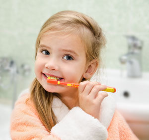 Brushing Teeth - Pediatric Dentist in Parker, CO