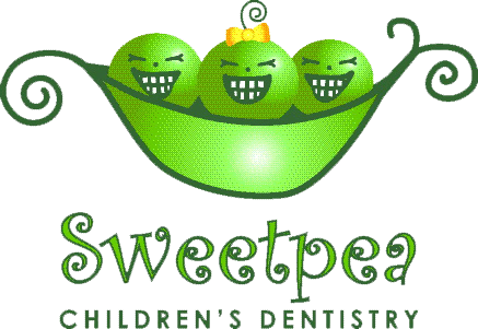Logo for Sweet Pea Pediatric Dentist