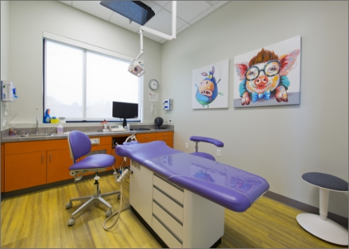 Exam Room - Pediatric Dentist in Parker, CO
